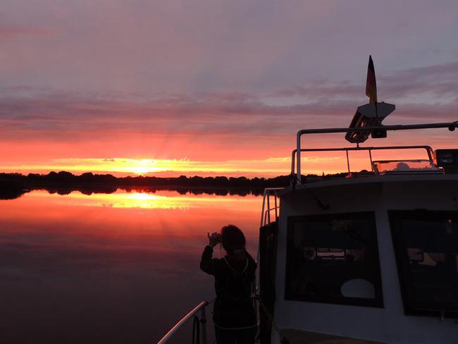 Dobbertiner See - Sonnenuntergang