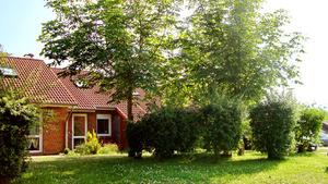 Eingang zum Ferienhaus