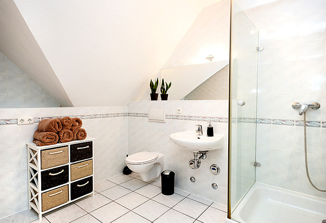 Fewo Meersinn - Bad mit Dusche