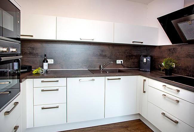 Fewo Meersinn - vollständig ausgestattete Küche