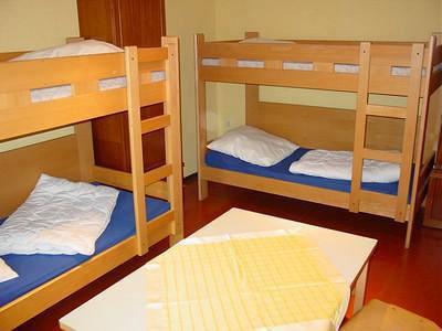 Zimmer mit 2 Doppelstockbetten