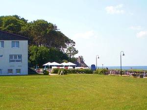 Hotel Nienhäger Strand an der Steilküste