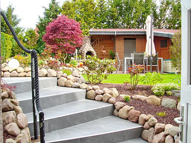 Fewo 1 - Garten mit Terrasse