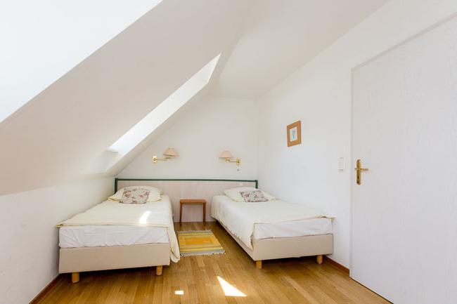 Appartement 6 - Schlafzimmer mit 2 Einzelbetten
