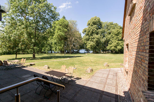 Appartement 2 - Blick von der Terrasse