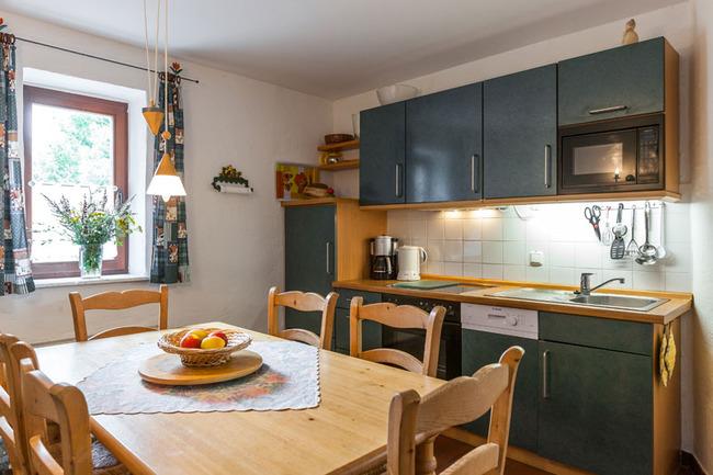 Appartement 1 - Küchen- & Essbereich