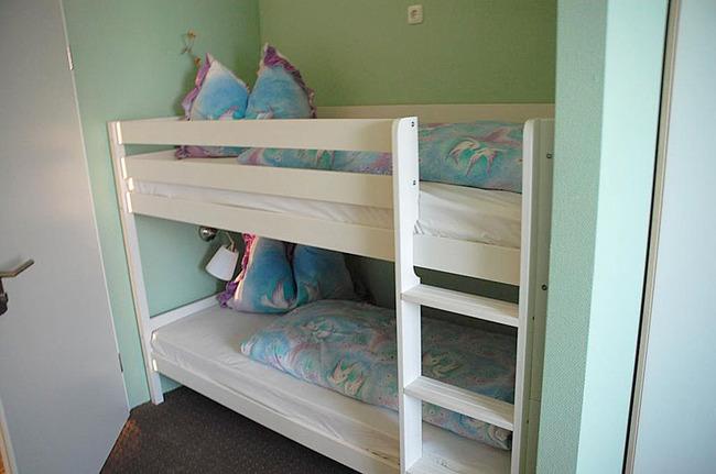 Familienzimmer mit Etagenbett