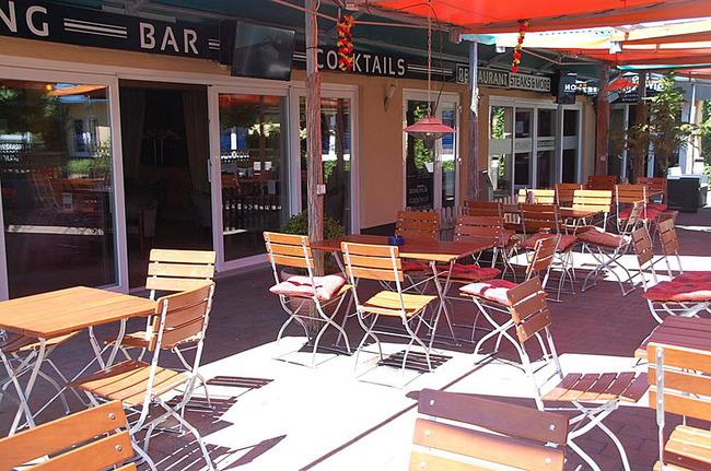 Restaurant-Terrasse im Casilino Hotel A20