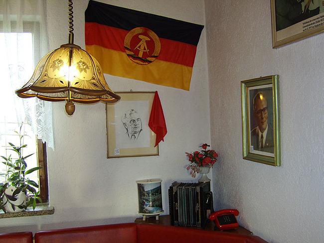 Rote Ecke in der Gaststätte