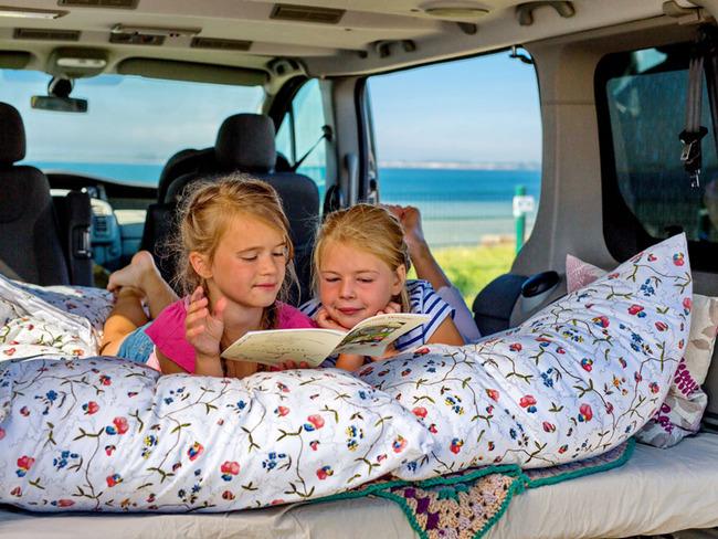 Camping direkt an der Ostsee