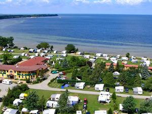 Luftbild vom Campingplatz