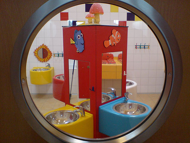 Kinderbereich im Sanitärhaus