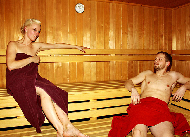 Sauna im Fit & Relax Bereich