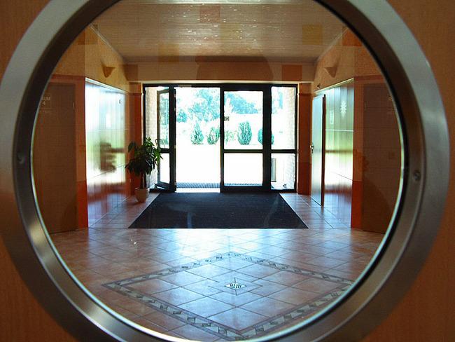 Eingangsbereich des Sanitärhauses