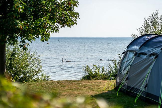 Campingplatz Nitschow - Stellpaltz direkt am Wasser