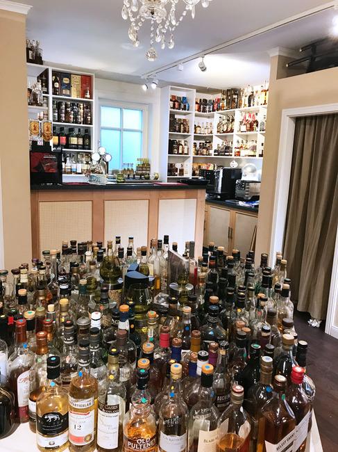 Whiskys zur Verkostung
