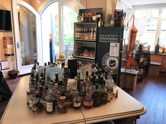 Whiskys und Brauspezialitäten