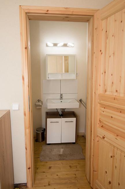 Einzelzimmer 1 - Bad