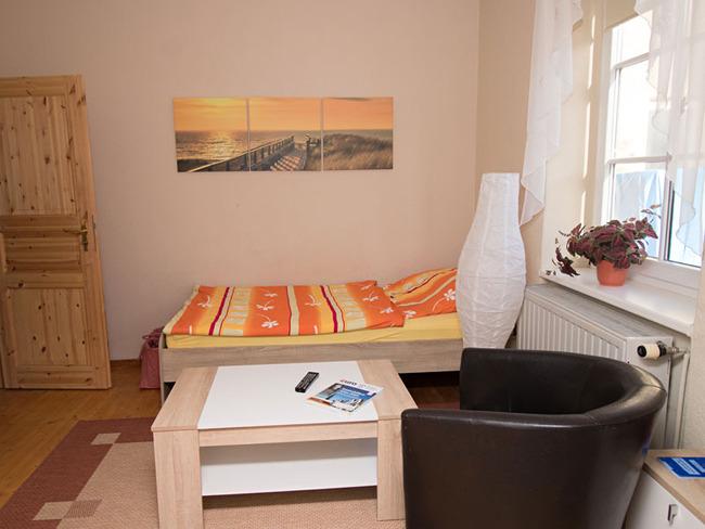 Einzelzimmer 1 - Wohnraum