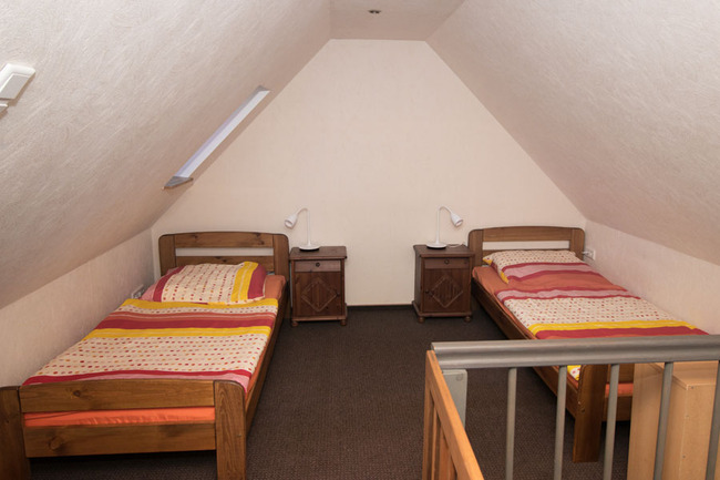 Doppelzimmer 3 - Schlafraum
