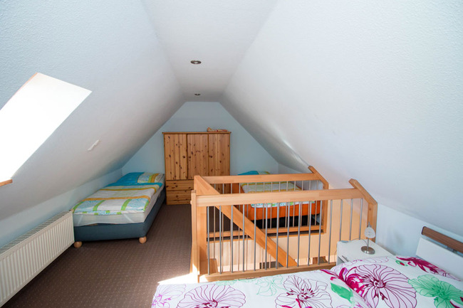Appartement 5 - Schlafraum