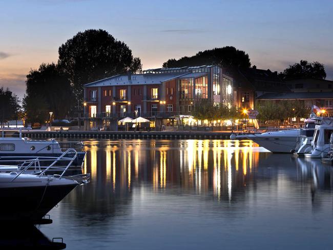 Restaurant Pier 3 am Abend