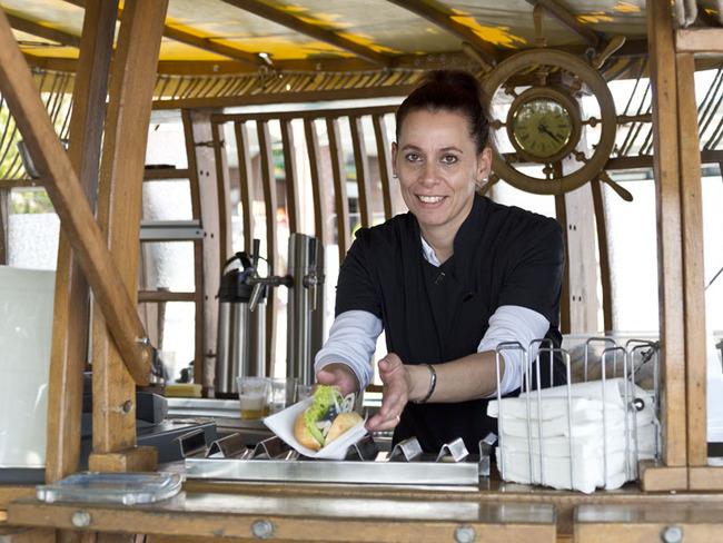 Restaurant Pier 3 - Fischbrötchen