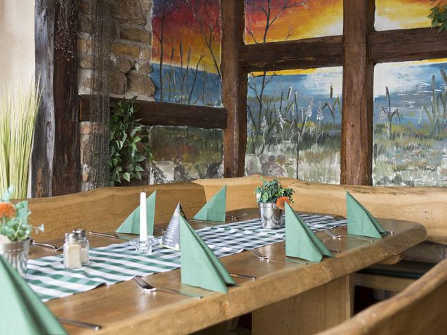 gedeckter Tisch im Restaurant Pier 3