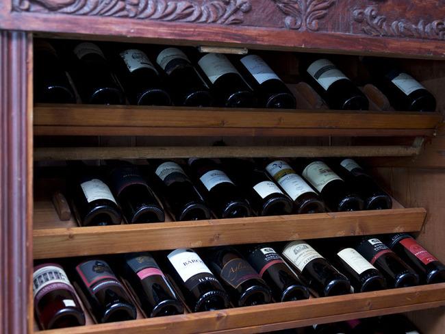 Weinlager vom Restaurant Pier 3