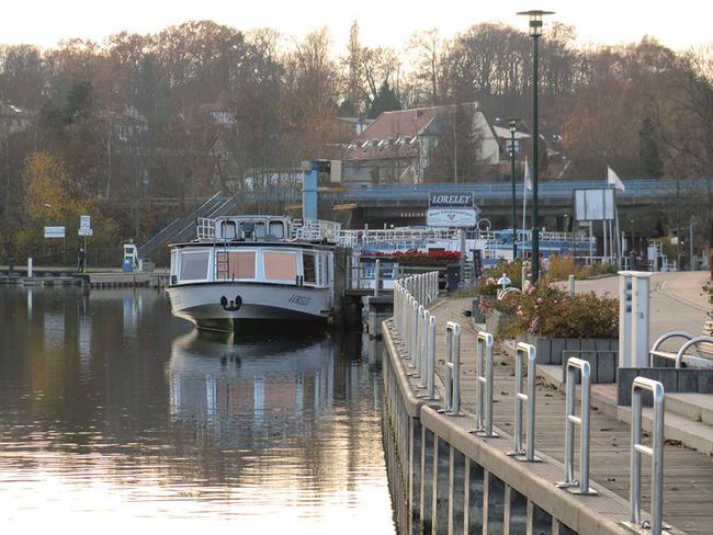 Anlegestelle für Fahrgastschiffe
