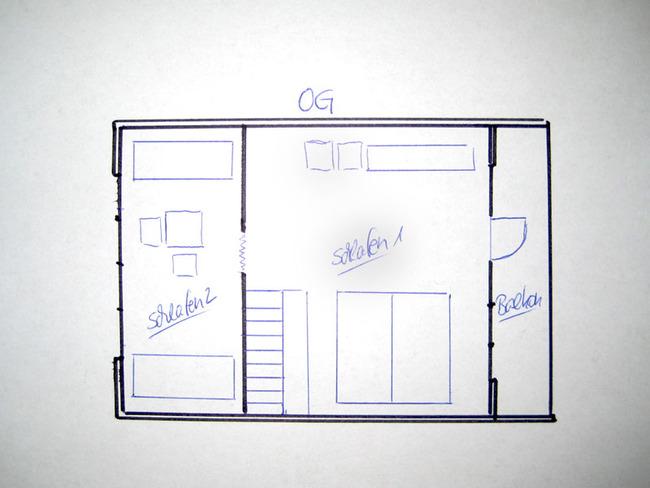 Haus 1 Grundriss Obergeschoss