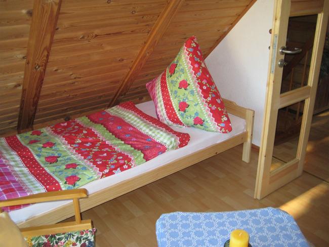 Haus 1 Schlafzimmer mit 2 Einzelbetten