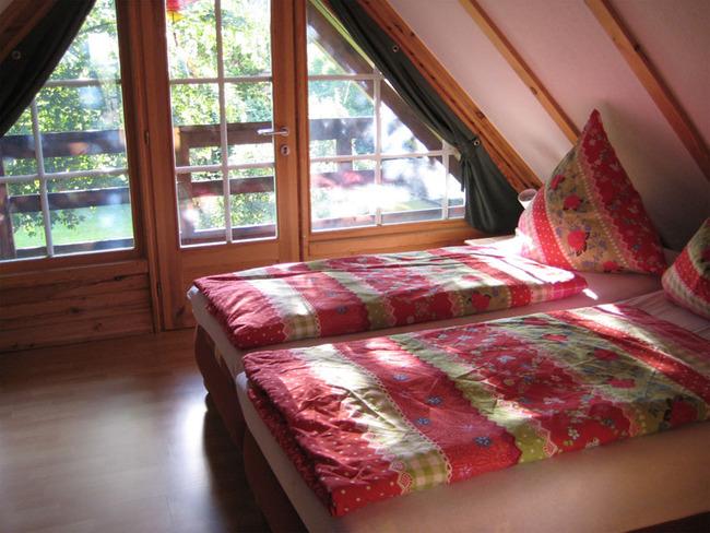 Haus 1 Schlafzimmer mit Balkon