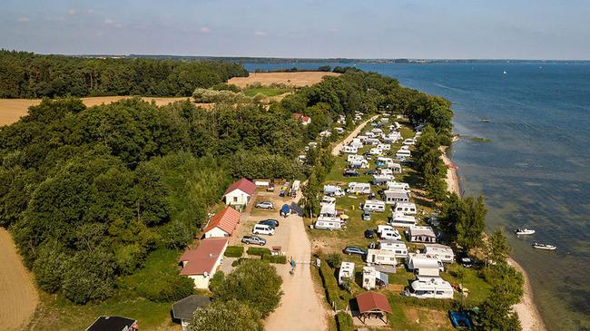 Campingplatz Nitschow Luftbild