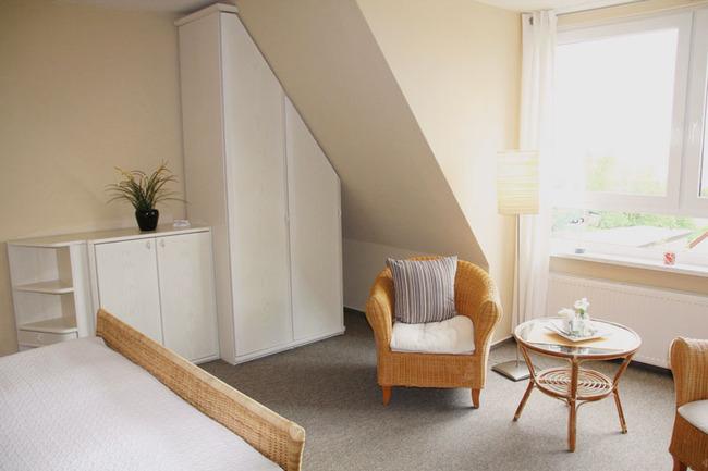 Doppelzimmer mit Wohnbereich