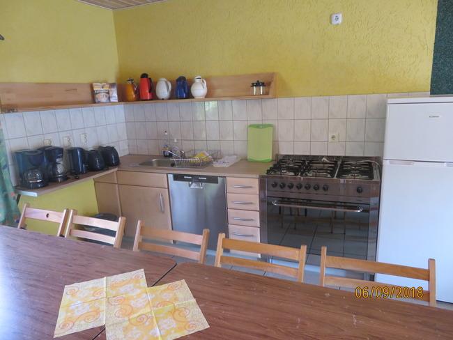 Gruppenbungalow-SV-Küche