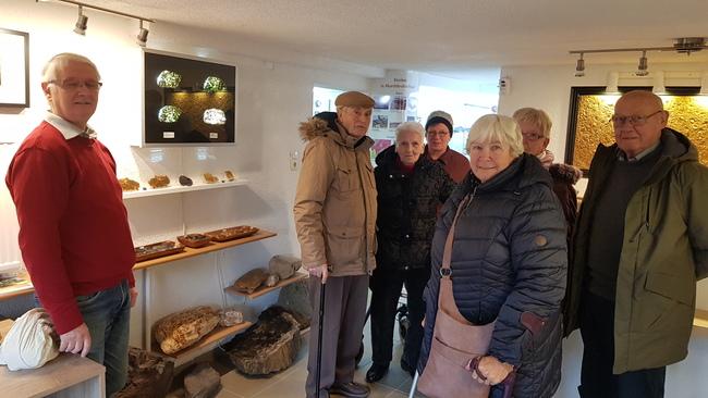 Besuch des geologischen Museums in Raben Steinfeld