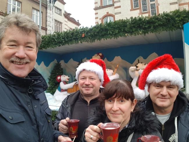 """Besuch auf dem Weihnachtsmarkt Schwerin """"Stern des Nordens"""""""