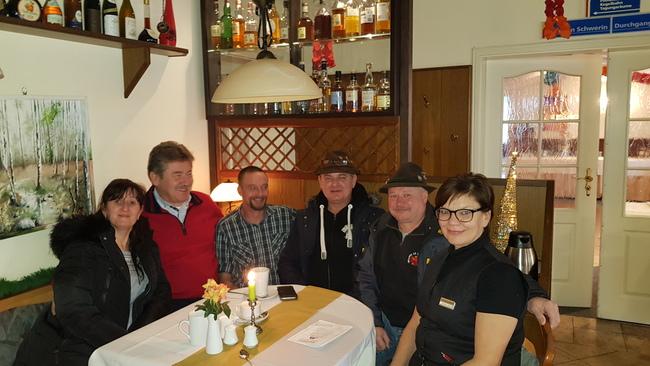 Stammgäste zu Silvester im Ferienpark Retgendorf