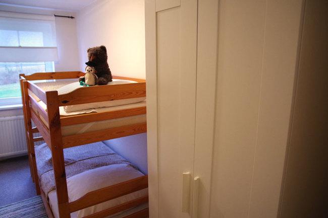 Haus Wismar Schlafzimmer 3 mit Etagenbett