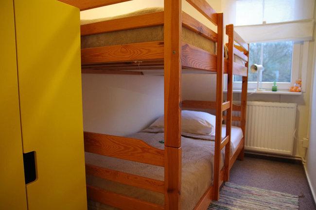 Haus Wismar Schlafzimmer 4 mit Etagenbett