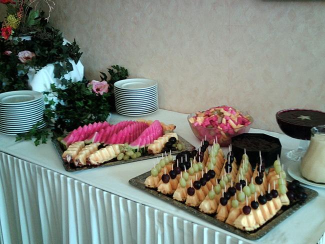 festliches Buffet