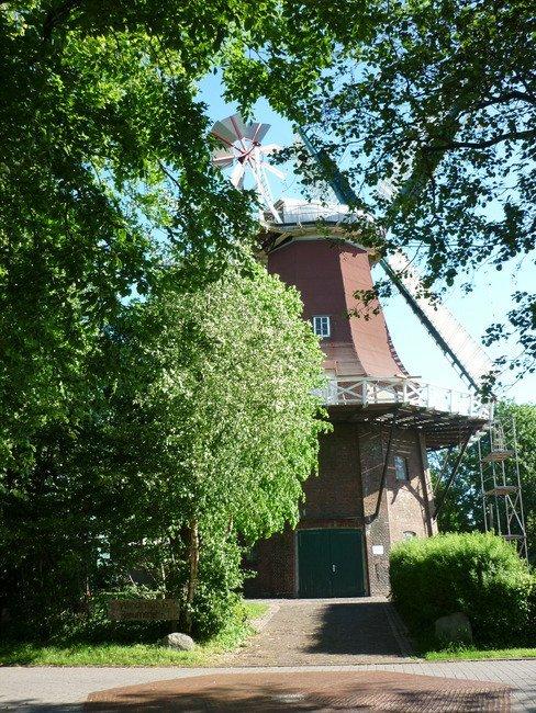 Großheide - Galerieholländer Rote Mühle