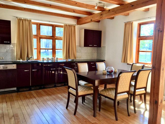 Haus Monika - Küche mit Essplatz