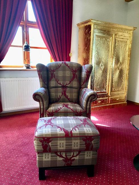 Haus Monika - WZ mit Sessel