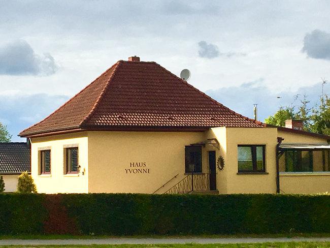 Haus Yvonne - Aussenansicht