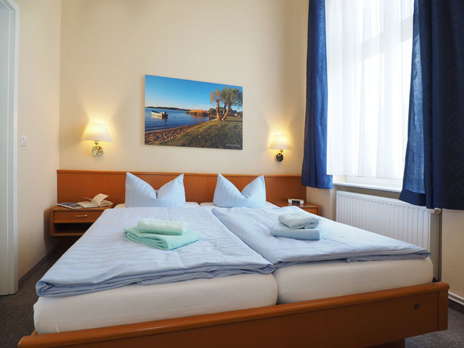 Appartement mit Doppelbett