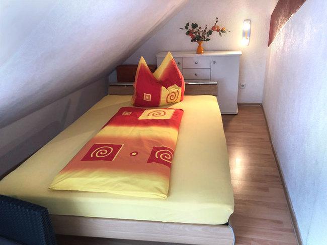 Fewo 2 - SZ mit Einzelbett auch als Doppelbett nutzbar