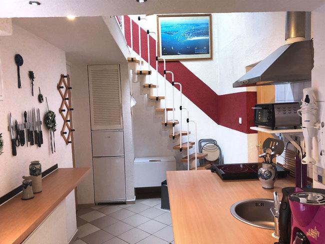 Fewo 2 - Wohnraum mit Küche