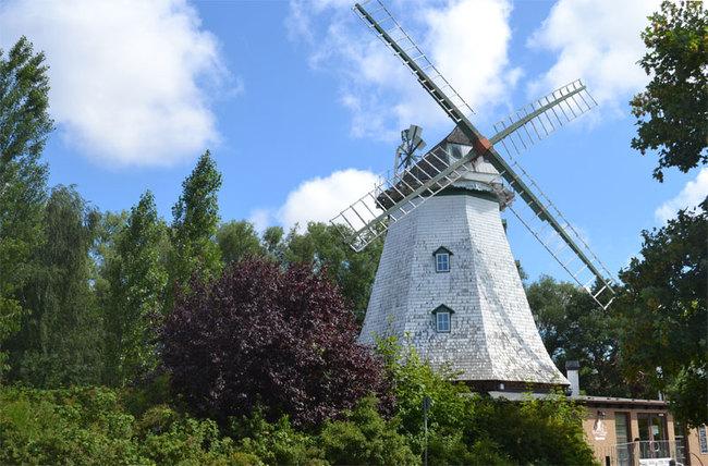 Aussenansicht der Mühle